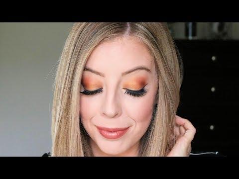 Fall Orange Eyeshadow Look Tutorial
