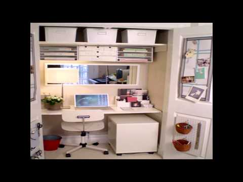 Small Home Office Space Design Ideas - Youtube