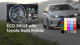 TOYOTA Auris Hybrid - How to drive a Hybrid