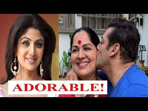 Salman Khan gives a peck on the cheek of Shilpa's mother! Mp3