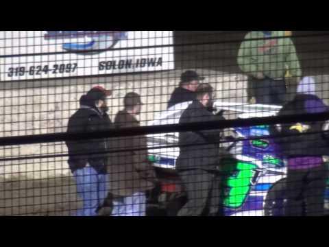 Tyler Soppe Sport Mod feature winner West Liberty Raceway 4/9/16