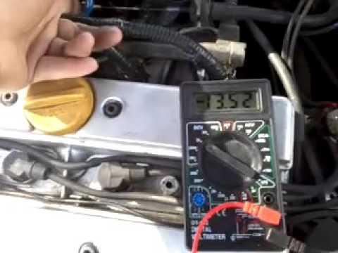 Проверка датчика коленвала X20XEV
