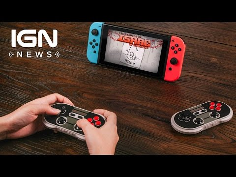 These Bluetooth Retro Controllers are Compatible with Nintendo Switch - IGN News