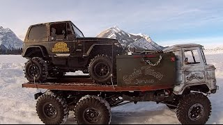 Repeat youtube video RC CWR the CC-01 hitches a ride to Scale Town