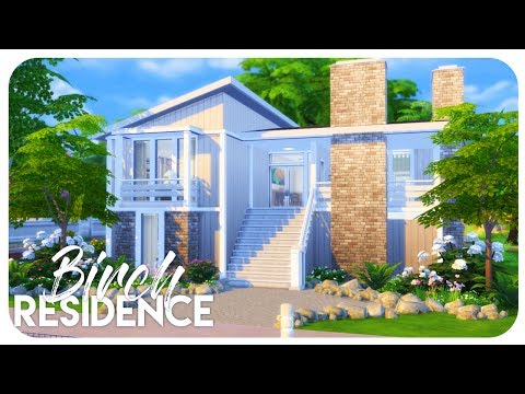 Sims 4 House Build - Birch Branch Residence