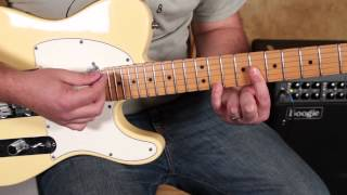 Inxs - Need You Tonight - How to Play on Guitar - Fender Telecaster