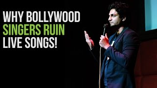"Bollywood Singers, Coke Studio & ""Tum Hi Ho"" - Stand Up Comedy : Kenny Sebastian"