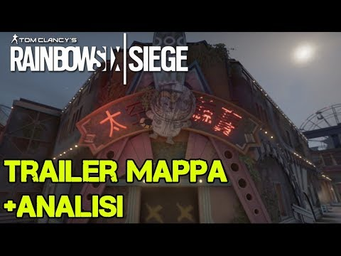 MAPPA PARCO A TEMA TRAILER OFFICIALE + ANALISI - BLOOD ORCHID - RAINBOW SIX SIEGE