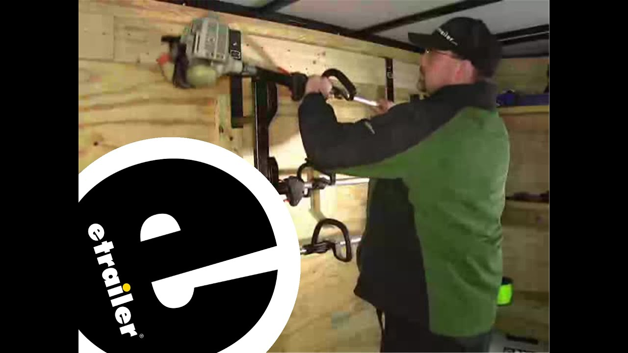 Review Of The Rackem Trimmer Rack For Enclosed Trailers