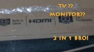 UNBOXING TV MONITOR LG 24MT48AF(, 2016-10-18T16:35:39.000Z)