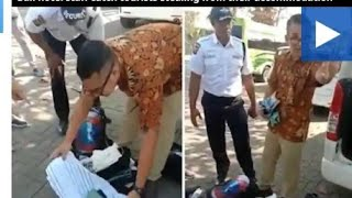 Bali hotel staff catch tourists stealing from their accommodation