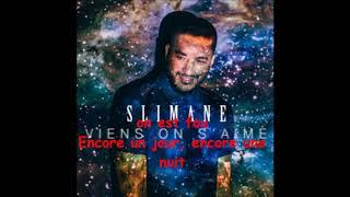Slimane - Viens on s'aime [Lyrics]