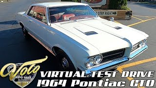 1964 Pontiac GTO Virtual Test Drive at Volo Auto Museum (V19102)