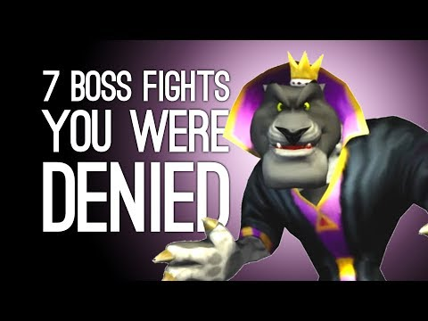 7 Villains Who Cheated You Out of a Boss Fight