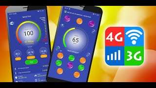 Wifi, 5G, 4G, 3G, 2G, GPRS Speed Test - Speed check & Signal Booster V5.1 screenshot 2