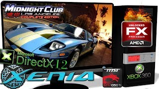 XENIA-DX12 1 05-ML [Xbox 360] - Midnight Club: Los Angeles [Gameplay] AMD  FX8320 + GTX1050Ti #11