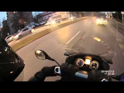 Piaggio MP3 daily ride in Sofia, Bulgaria