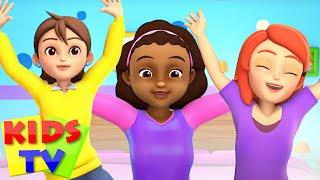 five little mommies jumping on the bed | cartoon rhyme | songs for kids | kids Tv Nursery Rhymes
