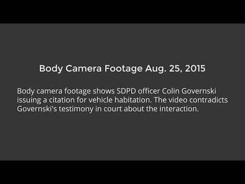 Body Camera Footage Aug. 25, 2015