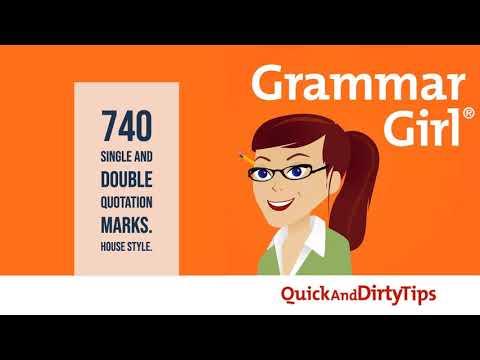 Grammar Girl #740.