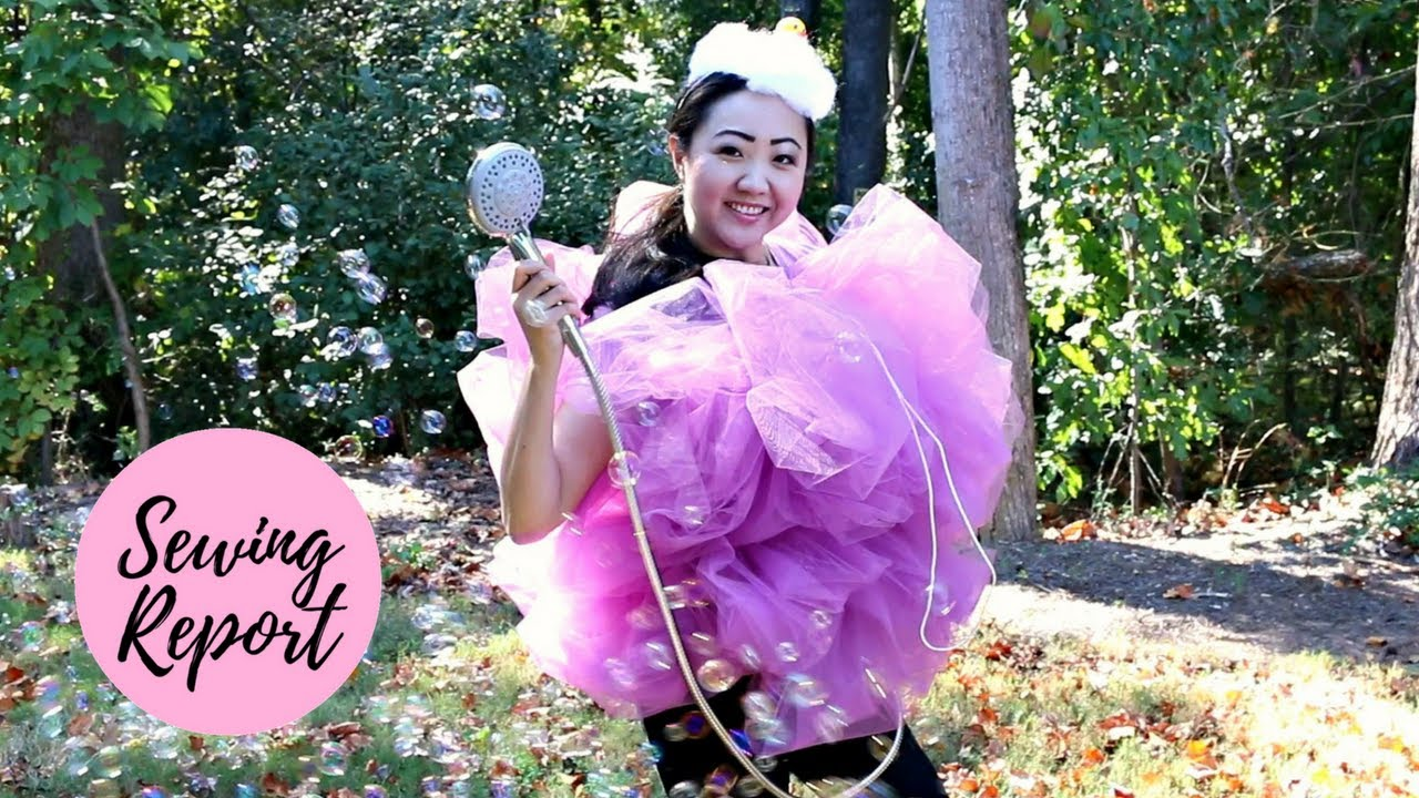 DIY Halloween Costume Bath Loofah Sponge [Quick u0026 Easy]  sc 1 st  YouTube & DIY Halloween Costume: Bath Loofah Sponge [Quick u0026 Easy] - YouTube