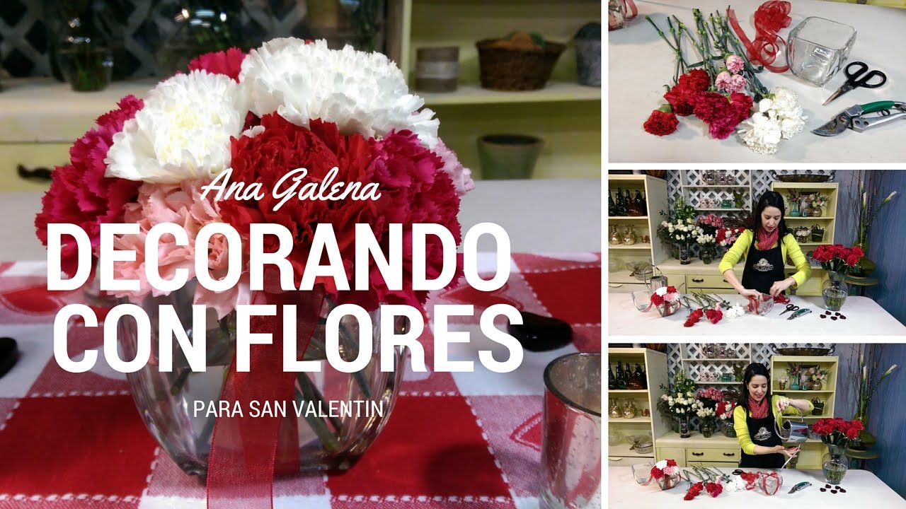 Como hacer arreglos de flores para san valentin con - Como hacer adornos de san valentin ...