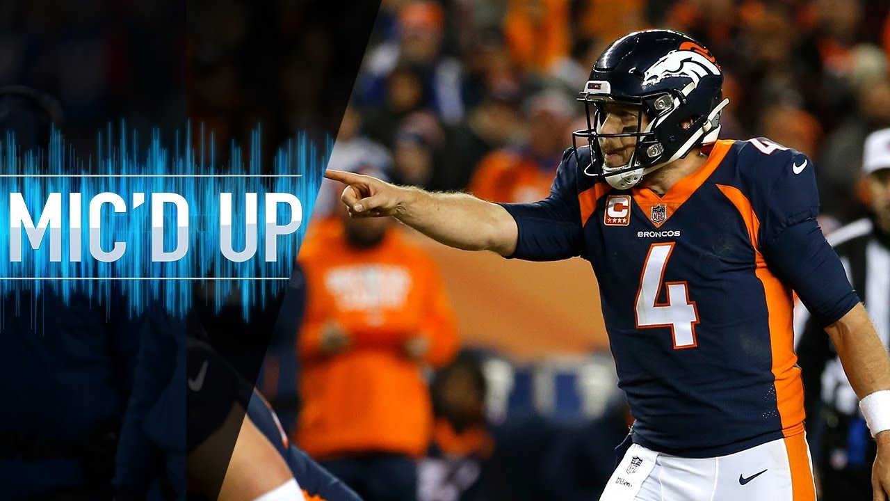 "Case Keenum Mic'd Up vs. Browns ""Son of a biscuit!"" 