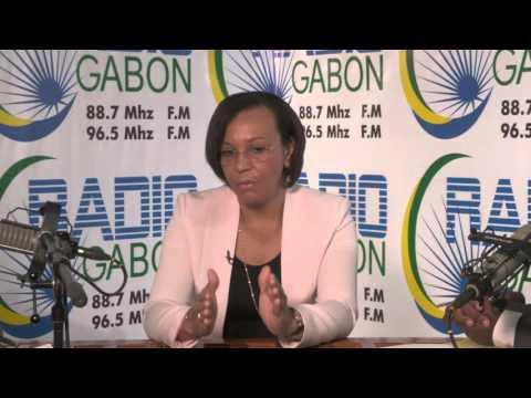 Radio Gabon - Interview de Madeleine BERRE, Ministre du Commerce