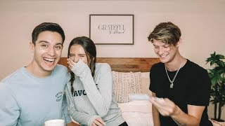 THE ACCENT CHALLENGE 2018 | ft. Gabriel Conte + Jacko Brazier