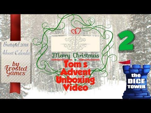 Tom's Advent Calendar Unboxing Video - December 2, 2018