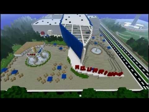 Aquarium Megabuild in Minecraft!(New Shadowpoint City)