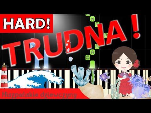 🎹 Hiszpańskie dziewczyny - Piano Tutorial (TRUDNA! wersja) 🎹