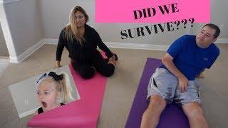 The toughest Yoga class with 4 yr old Everleigh...I AllInTheFoleyFamily