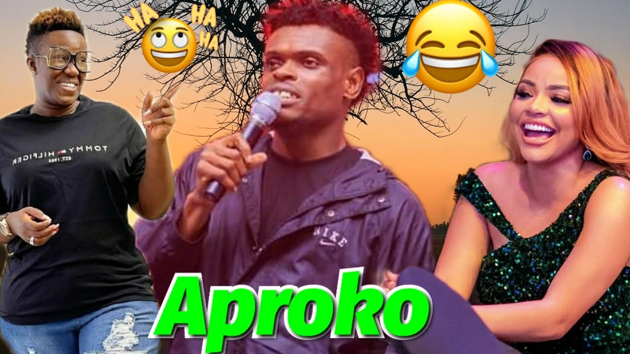 Download The Best Naija Comedian Aproko Funniest Comedy Performance On Stage.