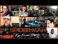 Spider-Man: Far From Home Trailer Reactions Mashup
