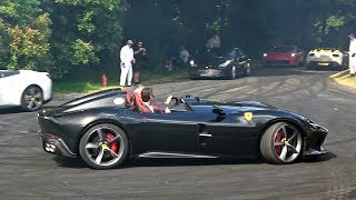 $3.0 Million Ferrari Monza SP2 (810HP) - FLATOUT at Goodwood Festival of Speed!