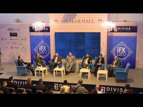 Duncan Anderson at the iFX EXPO 2017 CEO Panel