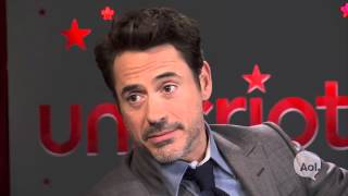 'Sherlock Holmes: A Game Of Shadows' | Unscripted | Robert Downey Jr., Guy Ritchie