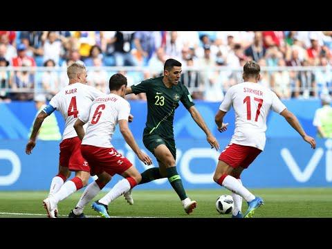 Denmark VS Australia Extended Highlights HD (1-1) -21/06/2018