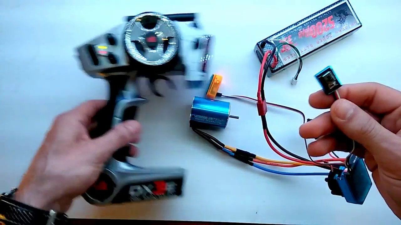 How To Calibrate - Setup Your Tsky Brushless Rc Esc with your radio