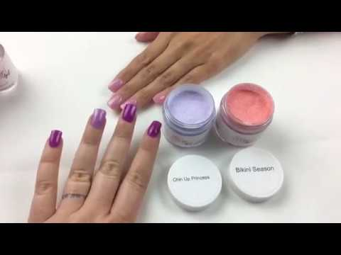 Peppi Gel How To Ly Dip Powder Nails W Layering Colors