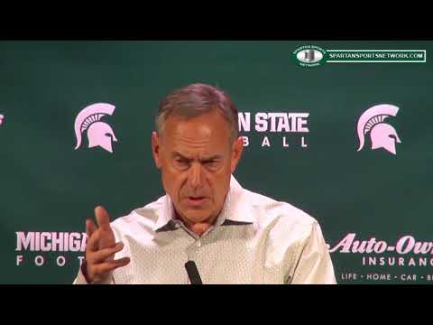 Mark Dantonio Previews Bye Week 2017