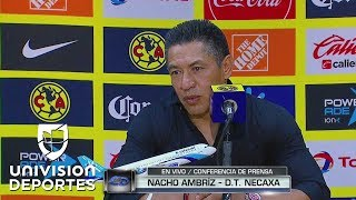 """Nacho Ambriz: """"No fue fácil dejar al América en cero"""""""
