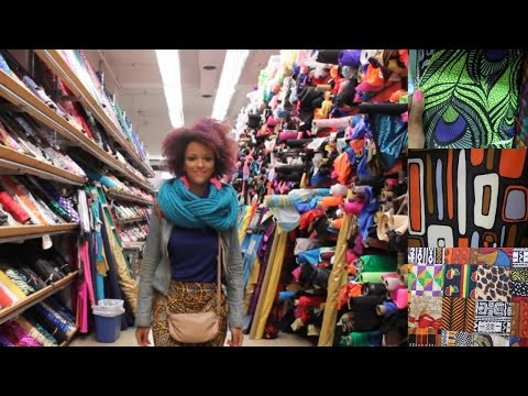 🇺🇸 SEW CHEAP! 6x FABRIC SHOPS IN NEW YORK GARMENT DISTRICT | HARLEM | 2$ FABRICS SEW CHEAP! 🇺🇸