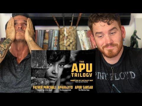 THE APU TRILOGY | Satyajit Ray | Trailer REACTION!!!