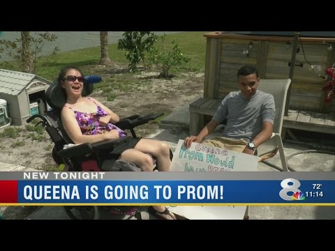 Queena is going to prom