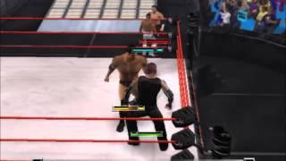 WWE RAW - TOTAL EDITION GAMEPLAY [Hardyz vs Rey Mysterio&Batista