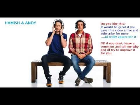 Vintage Hamish & Andy - The Stealing Threshold