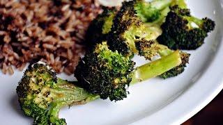 Roasted Broccoli With Lemon, Chili Garlic Oil & Parmesan