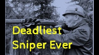 Simo Häyhä || The White Death || The Best Sniper in the World
